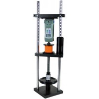 Shimpo FFGS-100E-H Vertical Motorized Test Stand with high speed 0.78-23.60 in/min (20-600 mm/min) and 110 lb (50 kg) capacity