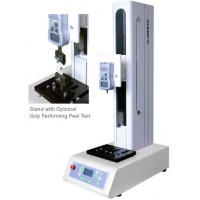 Shimpo FGS-220VC Force Test Stand with 220 lb (100kg, 1,000N) capacity. Front key pad or PC control operation with FGT-VC software