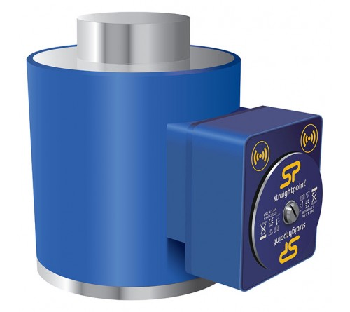 Crosby WNI1000TC-BLE Wireless Compression Load Cell, Capacity 2,200,000 lbs / 100te with Bluetooth Output - 2789242