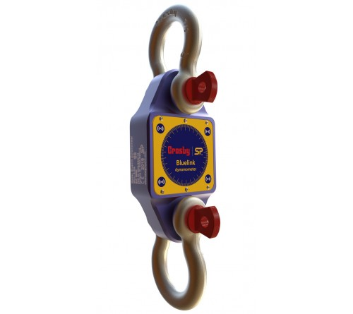 Crosby BLD6T5-WS BlueLink Bluetooth Dynamometer, 6.5te / 14,300 lb with 2 Crosby G2130 Shackles - 2789218 / 1019533 (x2)