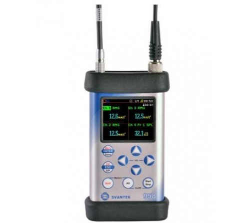 Svantek SVAN 958A Four Channels Sound & Vibration Analyser