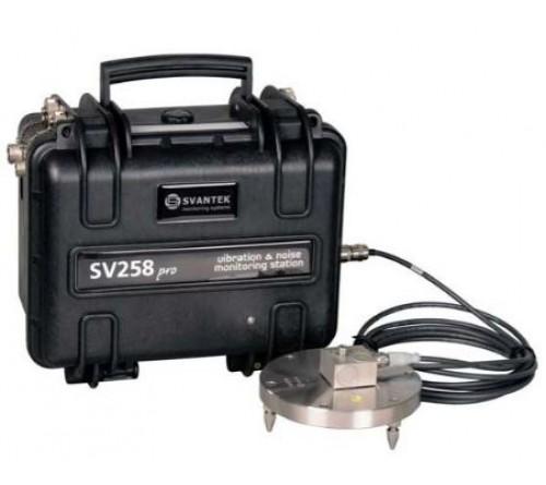 Svantek SV 258 PRO Vibration & Noise Monitoring Station