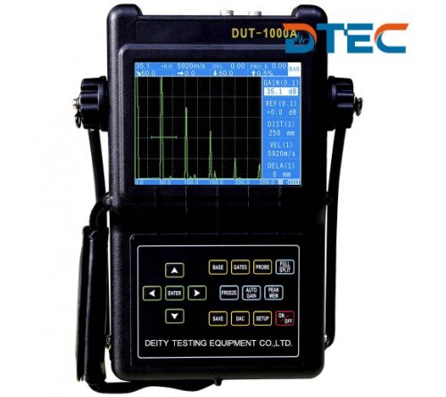 DTEC DUT-1000 Portable Digital Ultrasonic Flaw Detector