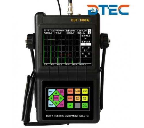 DTEC DUT-1800 Portable Digital Ultrasonic Flaw Detector