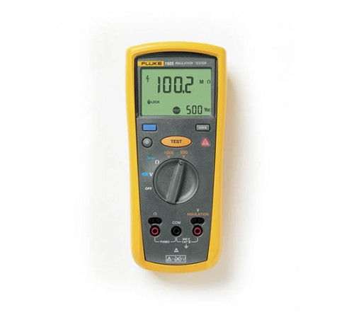 Fluke 1503 Insulation Resistance Tester, 600V, 0.1 MΩ - 2 GΩ