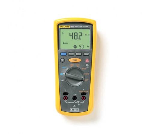 Fluke 1507 Insulation Resistance Tester, 600V, 0.01 MΩ - 10 GΩ