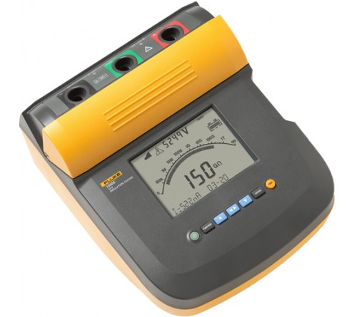 Fluke 1550C FC Kit w/IR3000 Insulation Resistance Tester Kit with Fluke Connect Compatibility, 5kV, > 2 TOhm