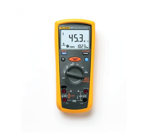 Fluke 1577 True-RMS Insulation Resistance Tester and Multimeter