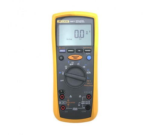 Fluke 1587 T True-RMS Telecom Insulation Resistance Tester and Multimeter