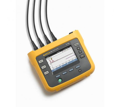 Fluke 1736 Three-Phase Power Logger with Fluke Connect Compatibility and Flexible Current Probes