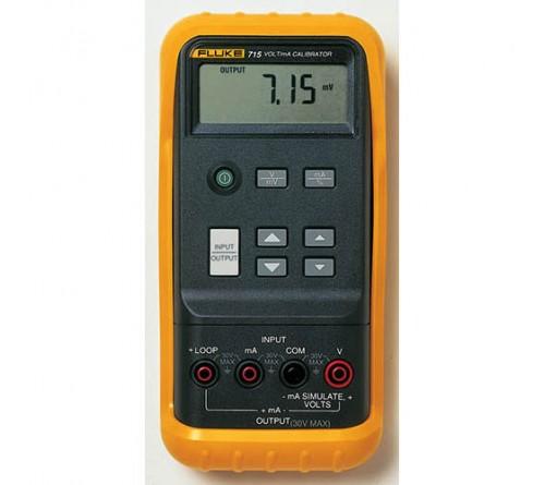Fluke 715 Volt/mA Calibrator, .01% Accuracy