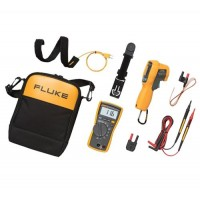 Fluke 116/62 Max+ 116 HVAC Multimeter and 62 MAX+ Infrared Thermometer