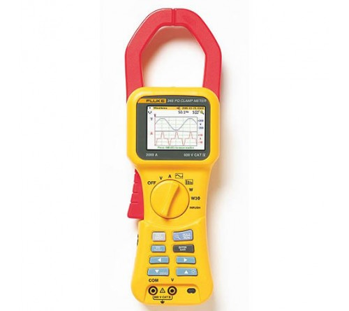 Fluke 345 Single-Phase Power Quality Clamp Meter