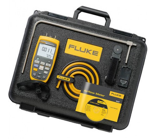 Fluke 922/KIT Airflow Meter/Micromanometer Kit