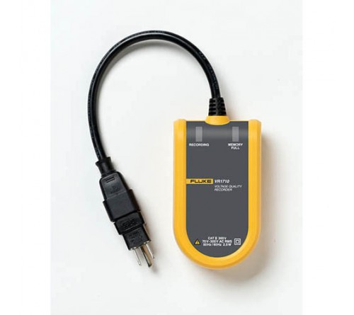Fluke VR1710 Single-Phase Plug-In Voltage Quality Recorder