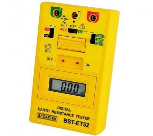 Besantek BST-ET52 Digital Ground Resistance Tester with Timer