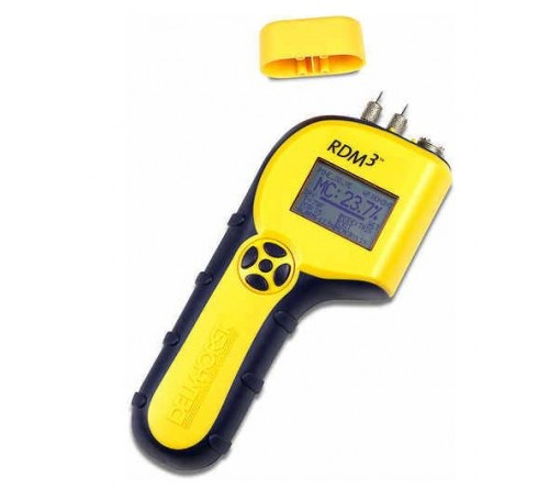 Delmhorst RDM-3 Wood Moisture Meter with Carrying Case
