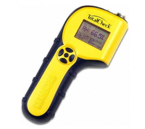 Delmhorst T-CHECK/BP TotalCheck Moisture Meter Complete Package