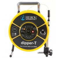 "Heron dipper-T [1100-100M] four function water level meter with 5/8"" probe & metric increments, 100m"