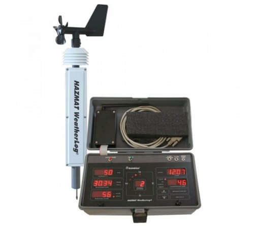 RainWise HM-1 portable HAZMAT weather station, mechanical anemometer