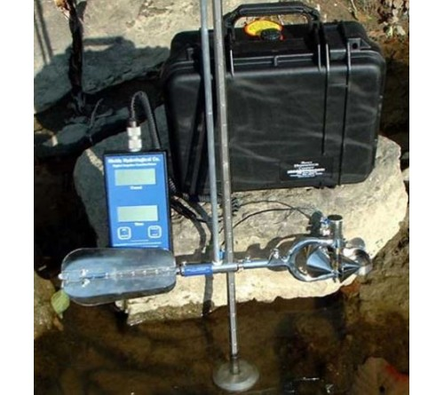 WaterMark Model 6200FD Rod-Suspended Water Current Meter Kit
