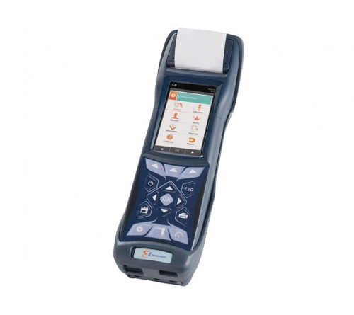 E Instruments E4500-S Commercial and Industrial 4-Gas Combustion Analyzer for O2, CO, CO2 plus NO, NOx, NO2, and SO2