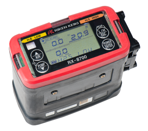 Riken Keiki RX-8700 Series Portable Multi Gas Monitors for Oil and Tenker