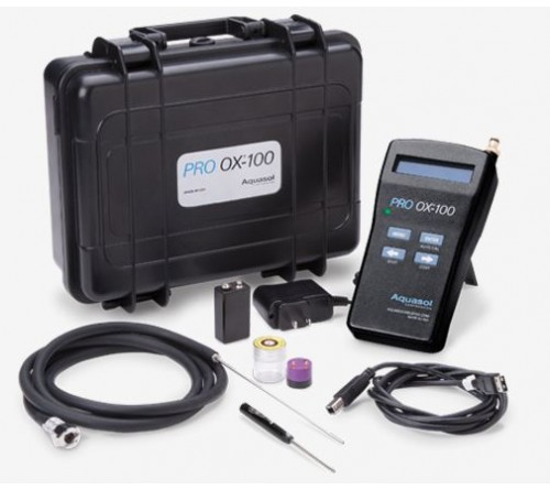Aquasol PRO OX-100 Oxygen Monitor & Acessories Kit