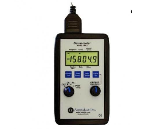 Alphalab GM2 Gaussmeter c/w Standar Axial Probe
