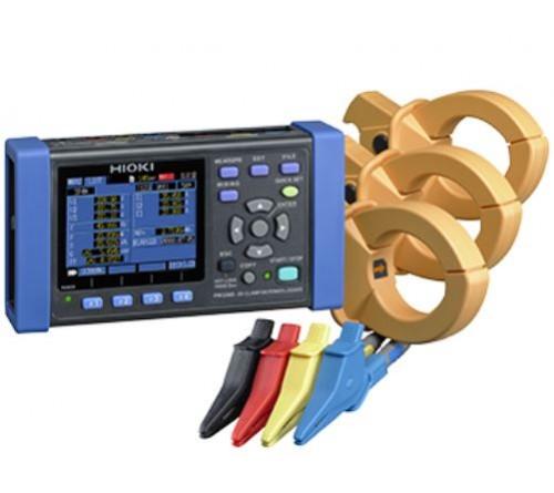 Hioki PW3360-21-01/500 Power Demand Analyzer Kit (Custom 500A Kit)