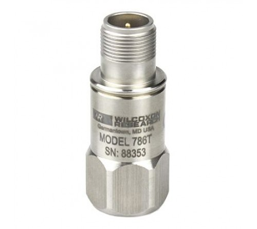 Wilcoxon 786T Acceleration + Temperature dual-output sensor