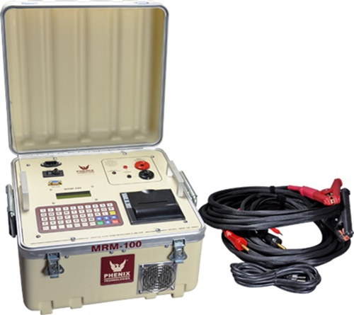 Phenix MRM-100 Portable 100 Amp Digital Microhmmeter