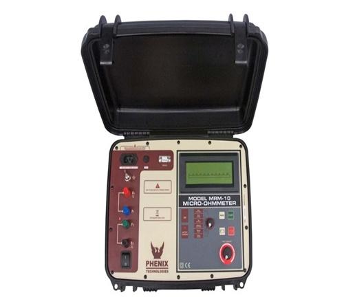Phenix MRM-10E Micro-Ohm Meter (10A max, 0.1 Micro Ohm Res.)
