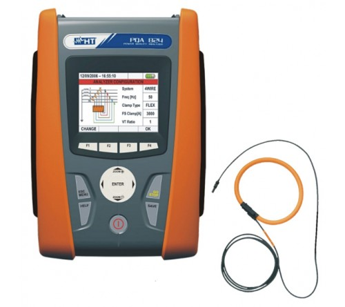 HT Instruments PQA824 4 CTs, HTFLEX33 for Power Quality Analyzers