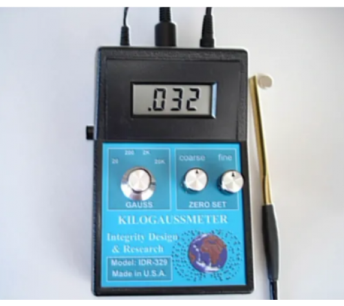 IDR-329 HIGH PRECISION STATIC DC KILOGAUSSMETER WITH TRANSVERSE AND AXIAL PROBE
