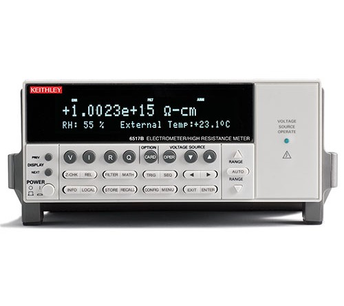 Keithley 6517B Electrometer/High Resistance Meter, 100aA - 20mA, 10µV - 200V, 100Ω - 10PΩ