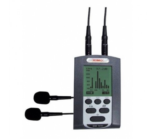 KIMO DS300 DOSIMETER NOISE EXPOSURE LEVEL SOUND PRESSURE METER