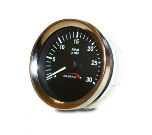 Murphy AT-30 (20700245) 12/24 VDC Analog Tachometer