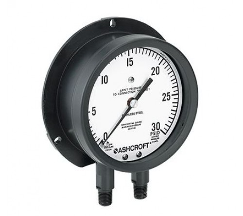 Ashcroft 1127 / 1128 Differential Pressure Gauges