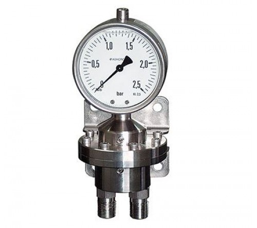 Ashcroft 5509 Differential Pressure Gauge