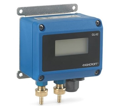 Ashcroft GL42 Indicating Low Differential Pressure Transmitter