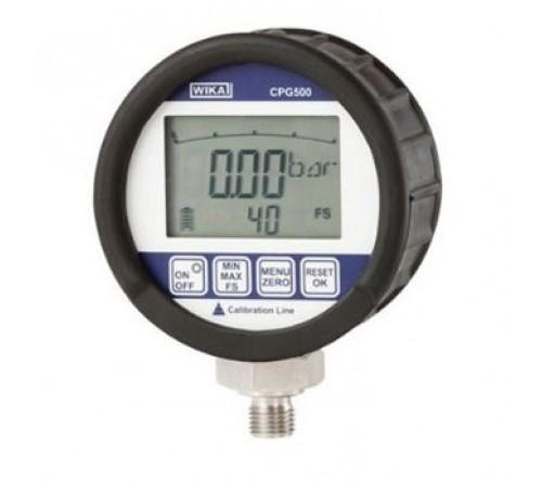 WIKA CPG500 [CPG500-BODGB-ZV3-ZZ] Digital Pressure Gauge