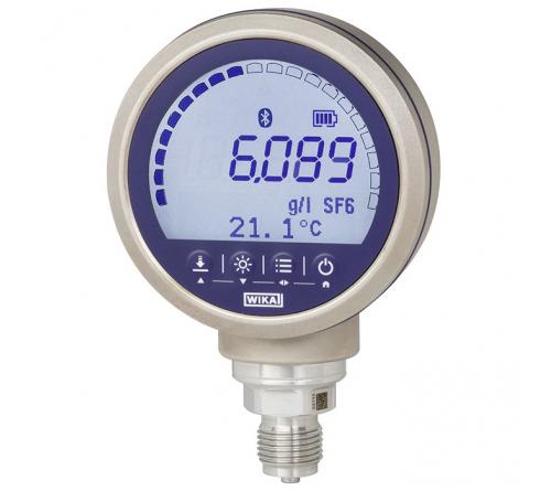 WIKA CPG1500 [CPG1500-ST-Z-S-PG234-GDSZ-13-WZZV-D-ZZ] Digital Pressure Gauge