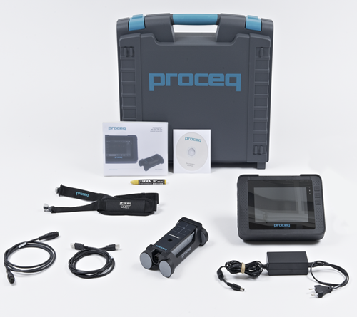 Proceq Profometer 600 [39210001] Metal rebar locator / with data logger
