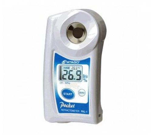 "Atago Digital Hand-held ""Pocket"" Refractometer - PAL-1"