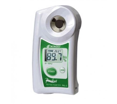 "Atago Digital Hand-held ""Pocket"" Refractometer - PAL-3"