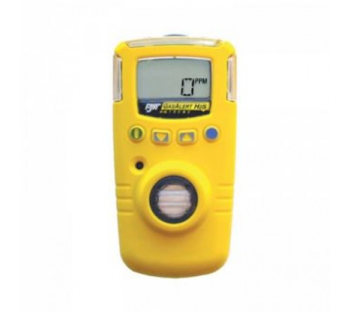 BW GAXT-H-2-DL  GasAlert Extreme H2S-ext Gas Detector (Yellow)