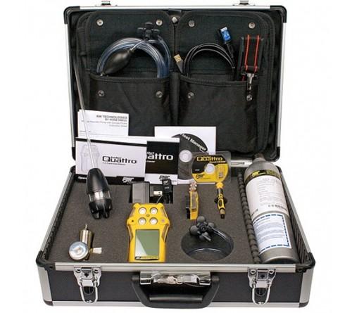 BW QT-XWHM-R-Y-NA-CS Multi-Gas Detector,4 Gas,-4 to 122F,LCD
