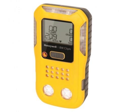 BW BWC4-Y-E Clip4 4-gas detector (O2, LEL, H2S, CO)