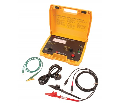 Martindale Metrohm E3511 5kV Analogue Insulation Tester